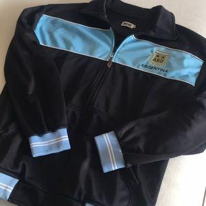 NWOT Argentine Zipper Up jacket